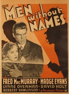 Affiche du film Men Without Names