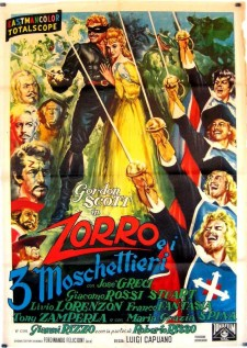 Affiche du film Mask of the Musketeers