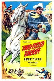 Affiche du film Two-Fisted Sheriff
