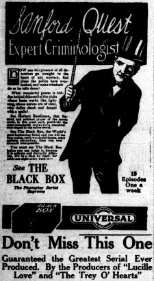 Affiche du film The Black Box