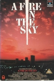 Affiche du film A Fire in the Sky