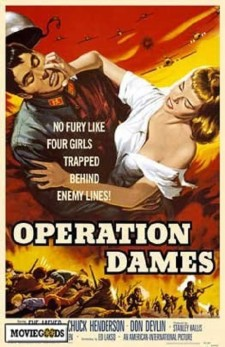 Affiche du film Operation Dames