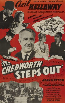 Affiche du film Mr. Chedworth Steps Out
