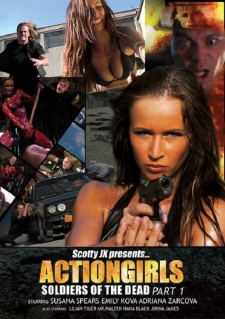 Affiche du film Actiongirls: Soldiers of the Dead - Part 1