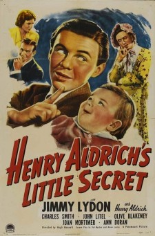 Affiche du film Henry Aldrich's Little Secret