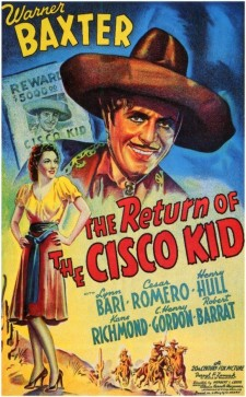 Affiche du film The Return of the Cisco Kid