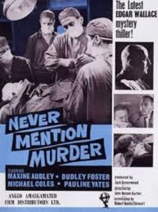Affiche du film Never Mention Murder
