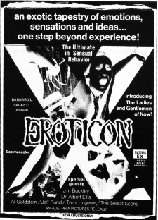 Affiche du film Eroticon
