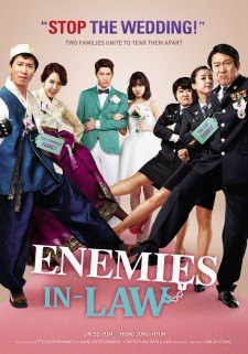 Affiche du film Enemies In-Law