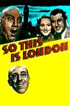 Affiche du film So This Is London