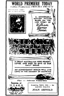 Affiche du film Strong is the Seed