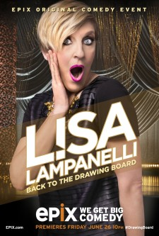 Affiche du film Lisa Lampanelli: Back to the Drawing Board