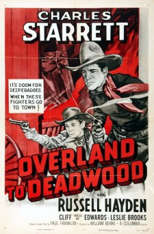 Affiche du film Overland to Deadwood