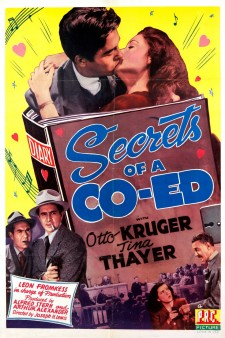 Affiche du film Secrets of a Co-Ed