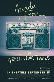 Affiche du film Arcade Fire - The Reflektor Tapes