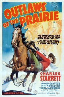 Affiche du film Outlaws of the Prairie