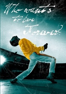 Affiche du film The Freddie Mercury Story: Who Wants to Live Forever?