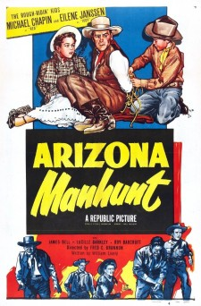 Affiche du film Arizona Manhunt