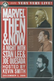 Affiche du film Marvel Then and Now: An Evening with Stan Lee and Joe Quesada