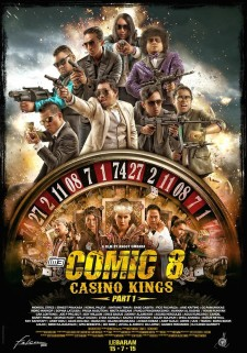 Affiche du film Comic 8: Casino Kings Part 1