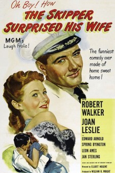 Affiche du film The Skipper Surprised His Wife