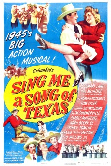 affiche du film Sing Me a Song of Texas