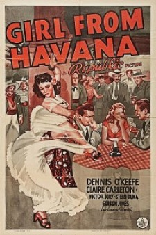 Affiche du film Girl from Havana