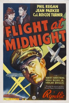 Affiche du film Flight at Midnight