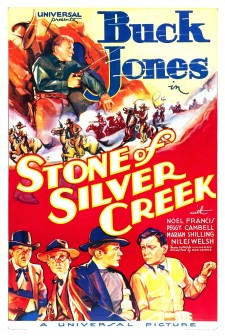affiche du film Stone of Silver Creek