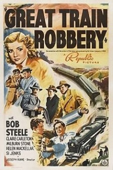 Affiche du film The Great Train Robbery