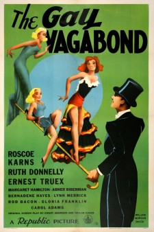 Affiche du film The Gay Vagabond