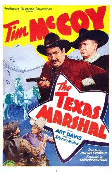 Affiche du film The Texas Marshal