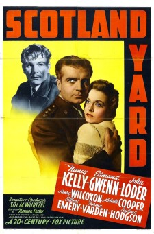Affiche du film Scotland Yard