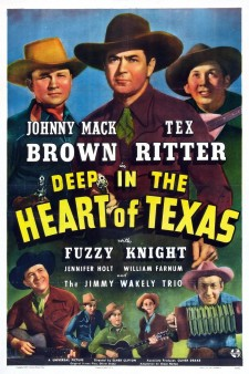 Affiche du film Deep in the Heart of Texas