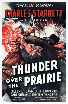 Affiche du film Thunder Over the Prairie