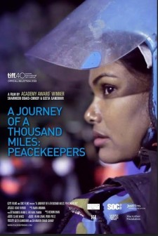 Affiche du film A Journey of a Thousand Miles: Peacekeepers