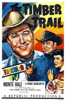 Affiche du film The Timber Trail