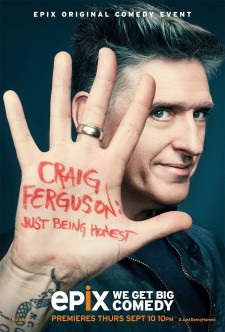 Affiche du film Craig Ferguson: Just Being Honest