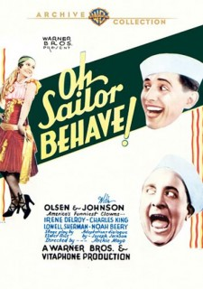 Affiche du film Oh, Sailor Behave!