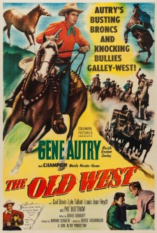 Affiche du film The Old West