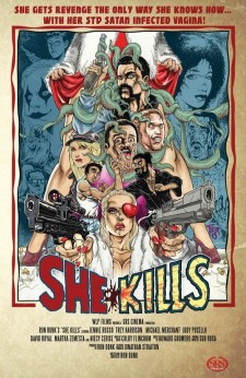 Affiche du film She Kills
