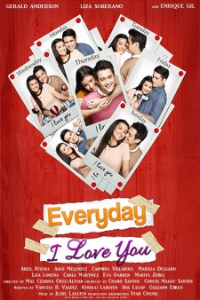 Affiche du film Everyday I Love You