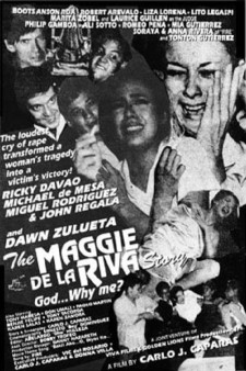 Affiche du film The Maggie dela Riva Story (God... Why Me?)