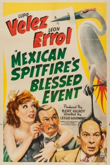 Affiche du film Mexican Spitfire's Blessed Event