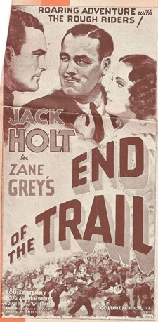 Affiche du film End of the Trail