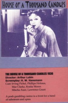 Affiche du film The House of a Thousand Candles