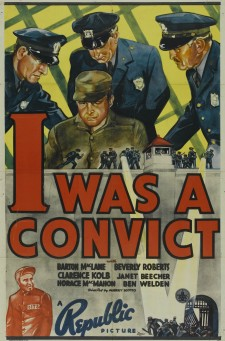 Affiche du film I Was a Convict
