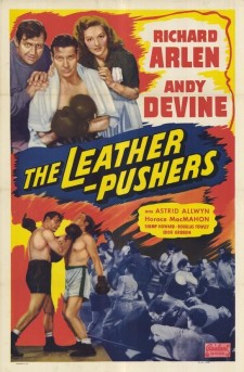 Affiche du film The Leather Pushers