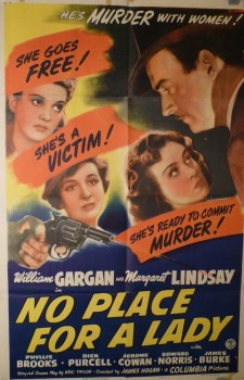 No Place for a Lady