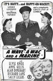 A Wave, a WAC and a Marine